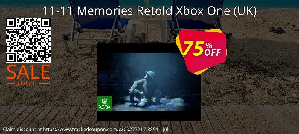 Get 73% OFF 11-11 Memories Retold Xbox One (UK) offering sales