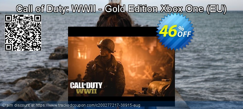 Call of Duty: WWII - Gold Edition Xbox One - EU  coupon on Camera Day offering discount