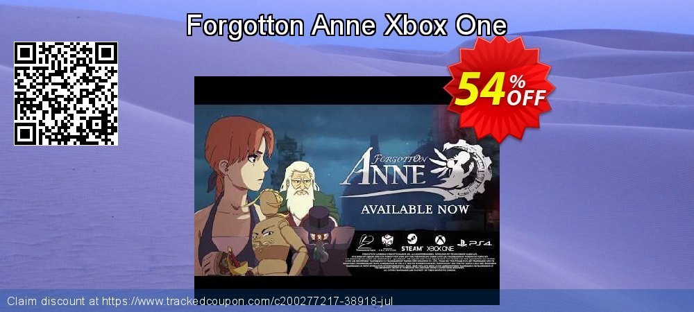 Forgotton Anne Xbox One coupon on National Cheese Day discounts
