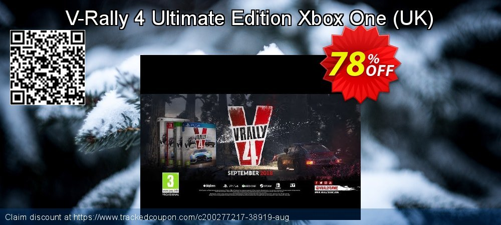 V-Rally 4 Ultimate Edition Xbox One - UK  coupon on World Bicycle Day promotions