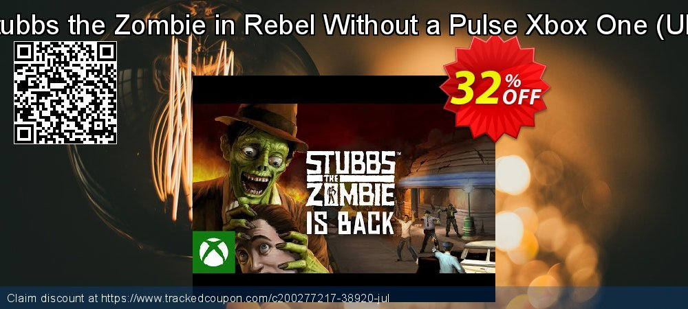 Stubbs the Zombie in Rebel Without a Pulse Xbox One - UK  coupon on World Milk Day sales