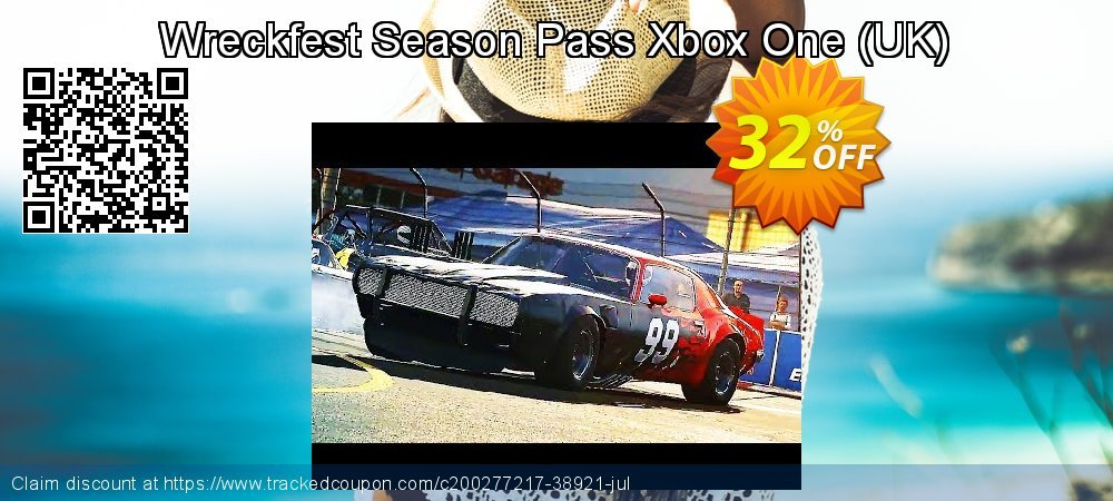 Wreckfest Season Pass Xbox One - UK  coupon on Egg Day deals