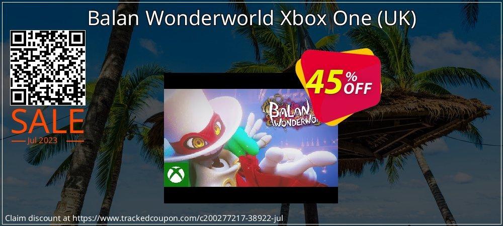 Balan Wonderworld Xbox One - UK  coupon on World Bicycle Day offer