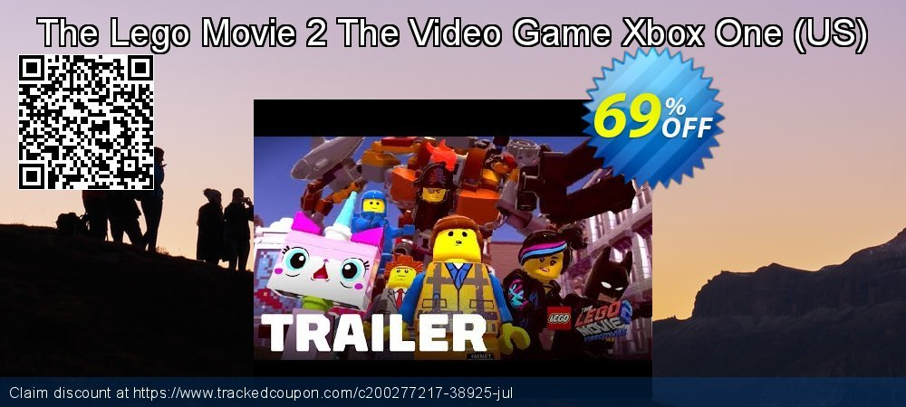 The Lego Movie 2 The Video Game Xbox One - US  coupon on National Kissing Day offering sales