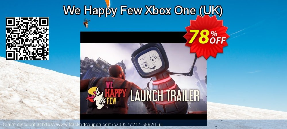 We Happy Few Xbox One - UK  coupon on World Day of Music super sale