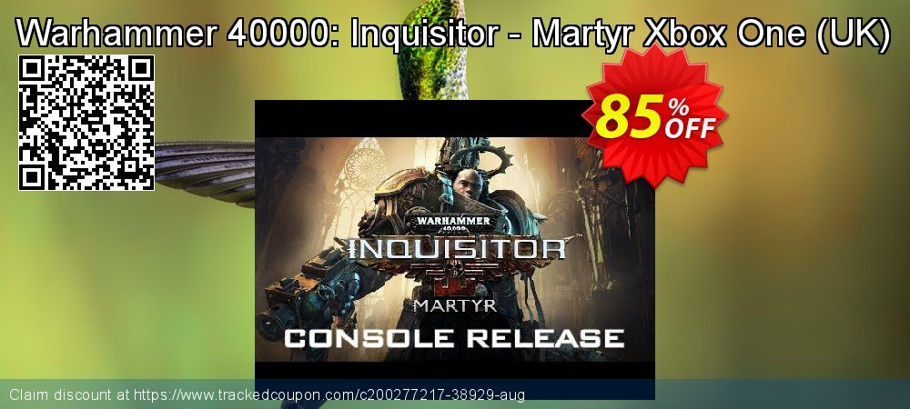 Warhammer 40000: Inquisitor - Martyr Xbox One - UK  coupon on Summer sales
