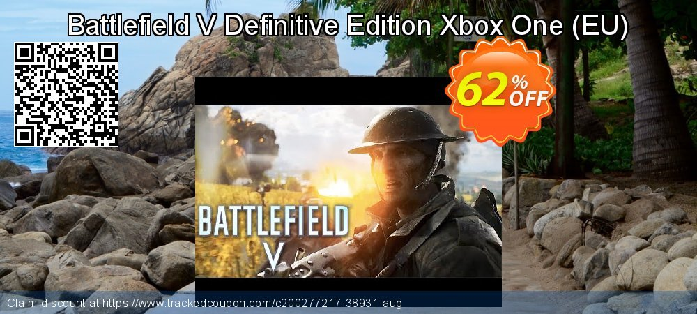Battlefield V Definitive Edition Xbox One - EU  coupon on National Cheese Day offer