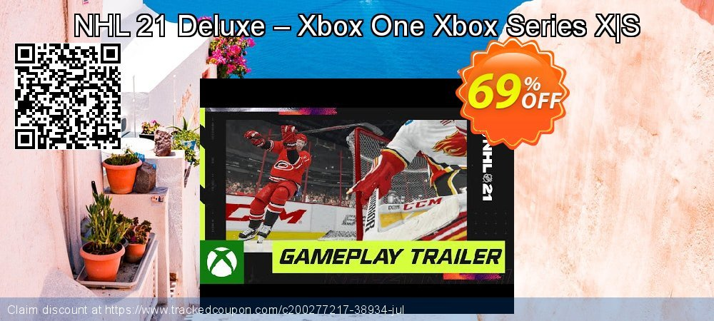 NHL 21 Deluxe – Xbox One Xbox Series X|S coupon on Egg Day offering sales