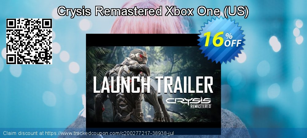 Crysis Remastered Xbox One - US  coupon on National Kissing Day sales