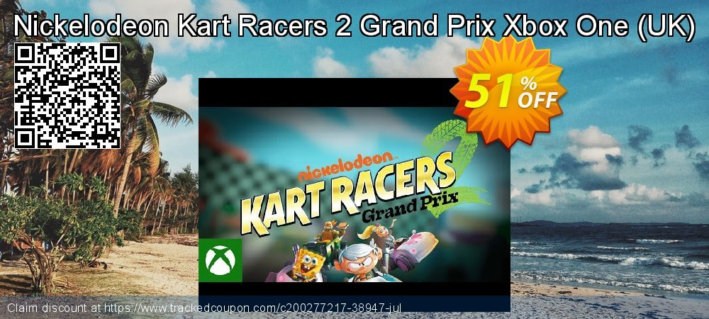 Nickelodeon Kart Racers 2 Grand Prix Xbox One - UK  coupon on Egg Day sales