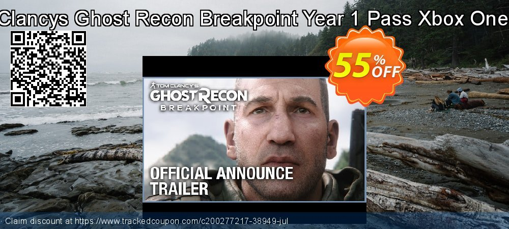 Tom Clancys Ghost Recon Breakpoint Year 1 Pass Xbox One - UK  coupon on Social Media Day offer