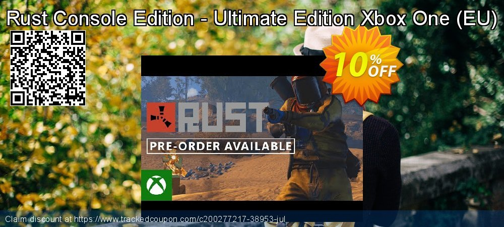 Rust Console Edition - Ultimate Edition Xbox One - EU  coupon on Hug Holiday super sale