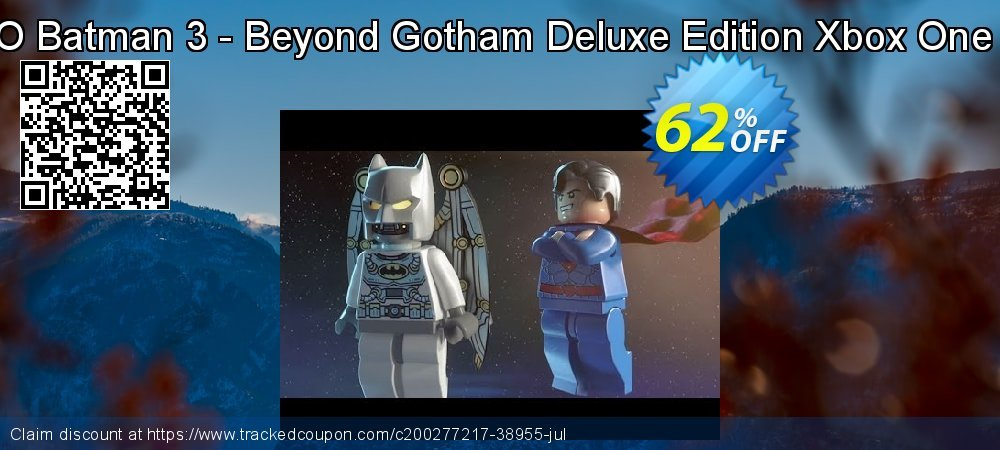 LEGO Batman 3 - Beyond Gotham Deluxe Edition Xbox One - US  coupon on Summer promotions