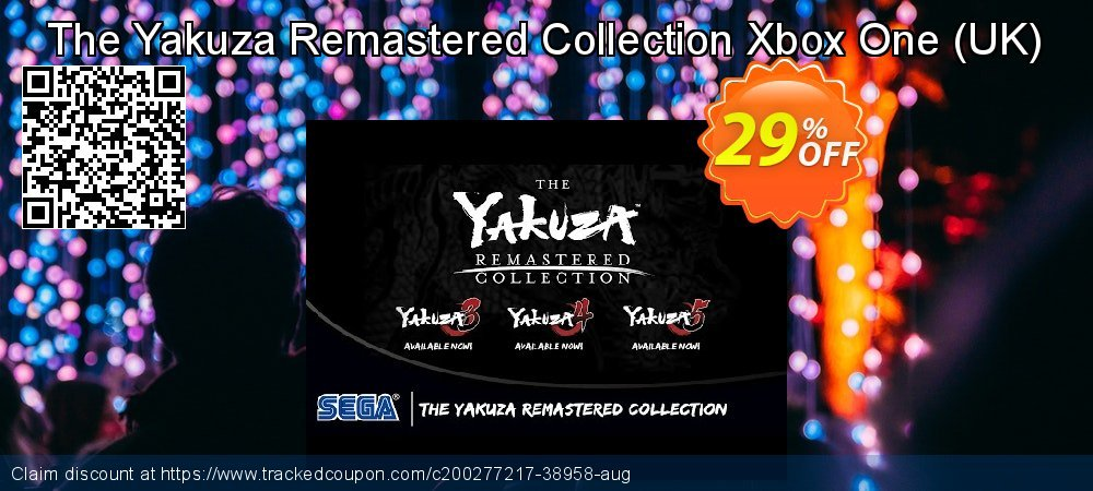 The Yakuza Remastered Collection Xbox One - UK  coupon on World Bicycle Day offer