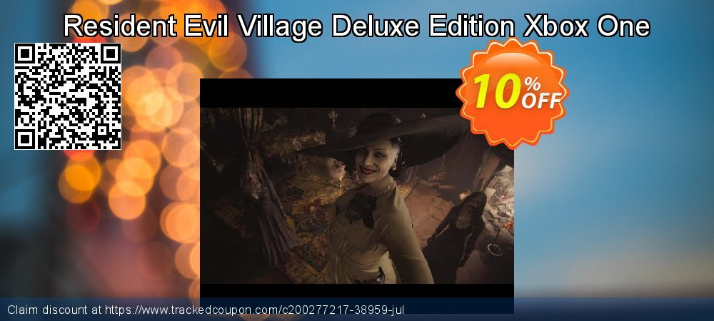 Resident Evil Village Deluxe Edition Xbox One coupon on World UFO Day offering discount