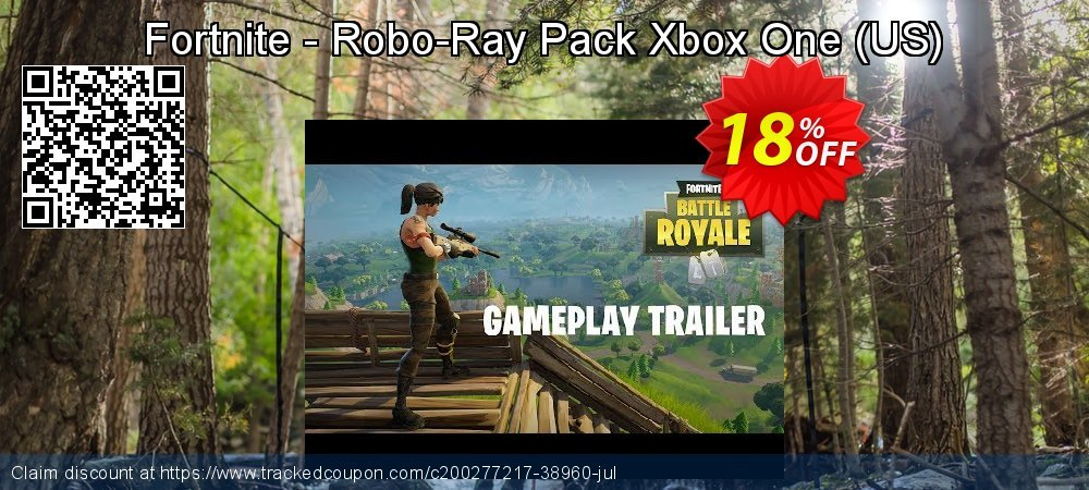 Fortnite - Robo-Ray Pack Xbox One - US  coupon on Egg Day offering discount