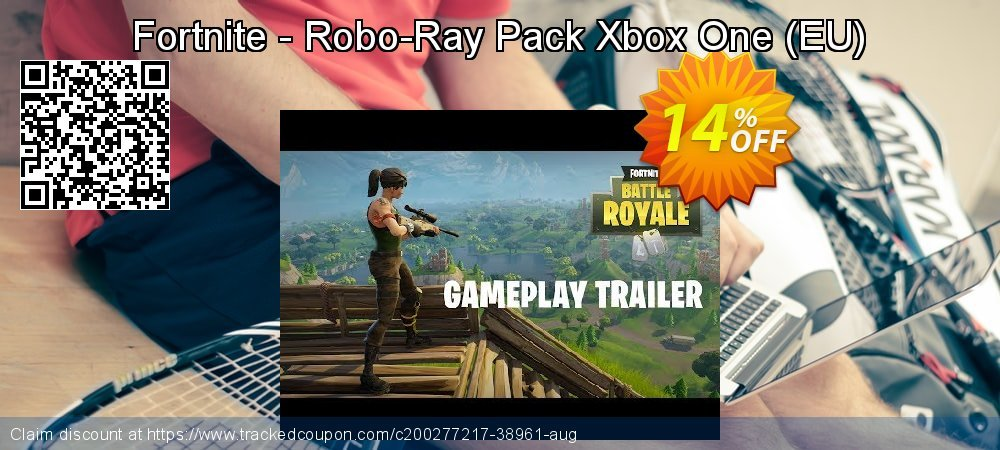 Fortnite - Robo-Ray Pack Xbox One - EU  coupon on World Bicycle Day offering sales