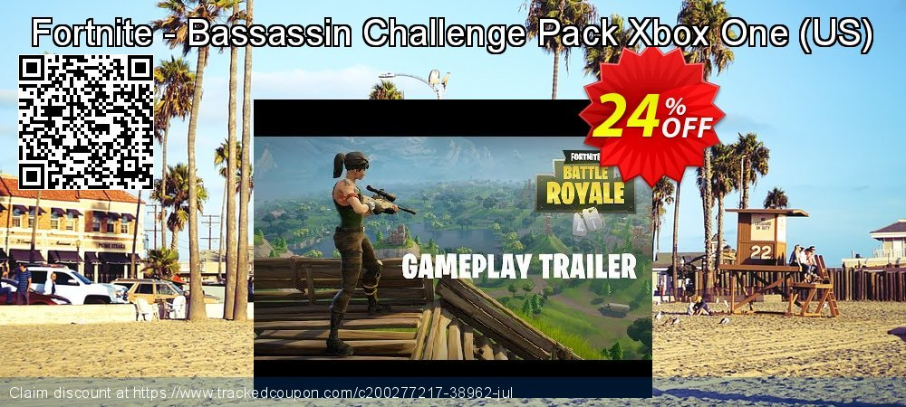 Fortnite - Bassassin Challenge Pack Xbox One - US  coupon on Social Media Day super sale