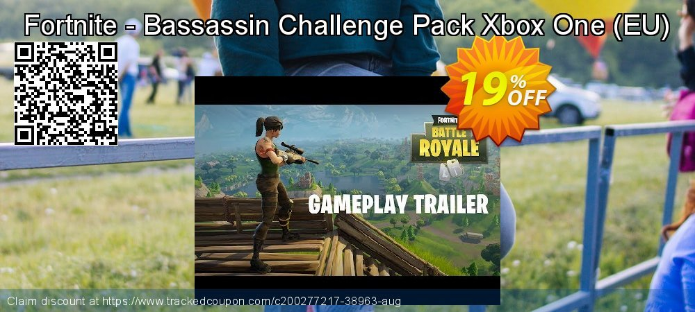 Fortnite - Bassassin Challenge Pack Xbox One - EU  coupon on World Oceans Day discounts