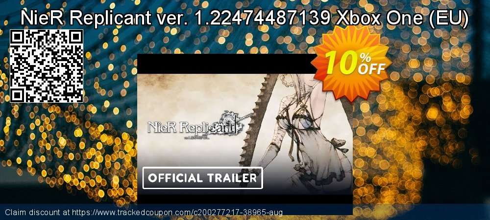 NieR Replicant ver. 1.22474487139 Xbox One - EU  coupon on World Day of Music sales