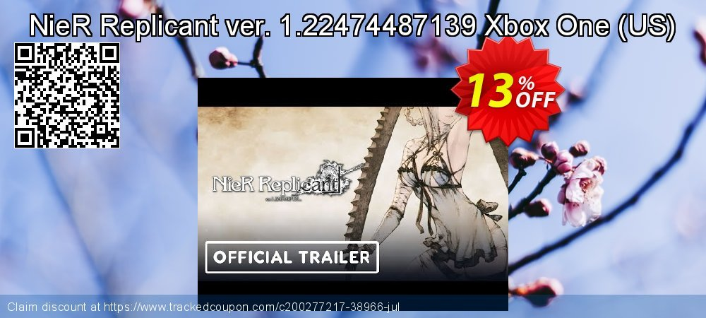 NieR Replicant ver. 1.22474487139 Xbox One - US  coupon on Hug Holiday deals