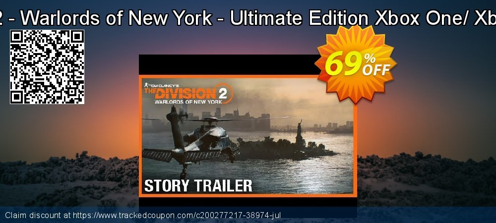 The Division 2 - Warlords of New York - Ultimate Edition Xbox One/ Xbox Series X S coupon on World Bicycle Day sales