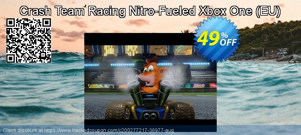 Crash Team Racing Nitro-Fueled Xbox One - EU  coupon on National Kissing Day discount