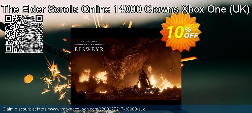 The Elder Scrolls Online 14000 Crowns Xbox One - UK  coupon on Camera Day super sale
