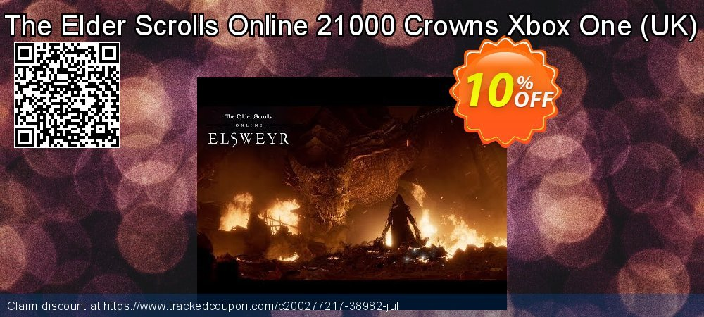 The Elder Scrolls Online 21000 Crowns Xbox One - UK  coupon on Father's Day promotions