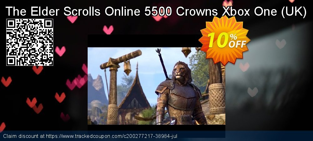 The Elder Scrolls Online 5500 Crowns Xbox One - UK  coupon on World Bicycle Day deals