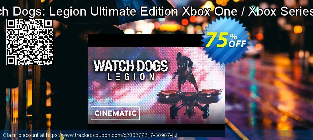 Watch Dogs: Legion Ultimate Edition Xbox One / Xbox Series X|S coupon on World Bicycle Day offering discount