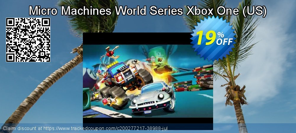 Micro Machines World Series Xbox One - US  coupon on Social Media Day offering sales