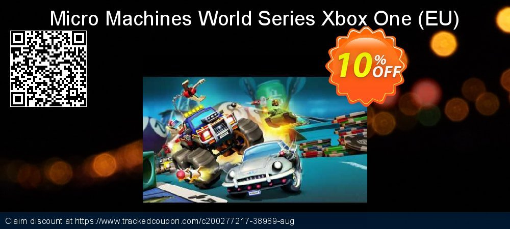 Micro Machines World Series Xbox One - EU  coupon on World Oceans Day super sale