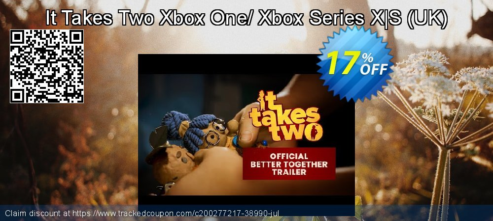 It Takes Two Xbox One/ Xbox Series X|S - UK  coupon on National Kissing Day discounts