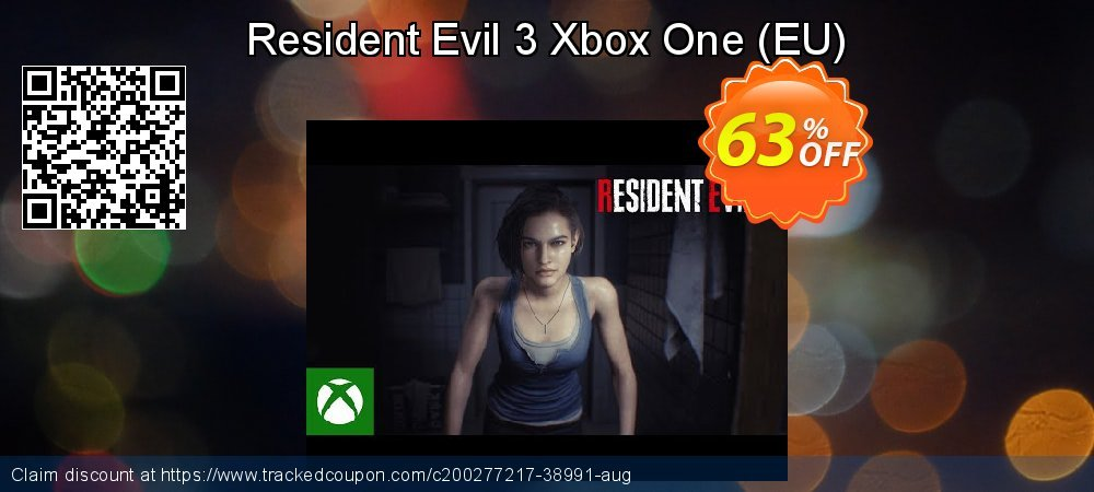 Resident Evil 3 Xbox One - EU  coupon on World Day of Music promotions