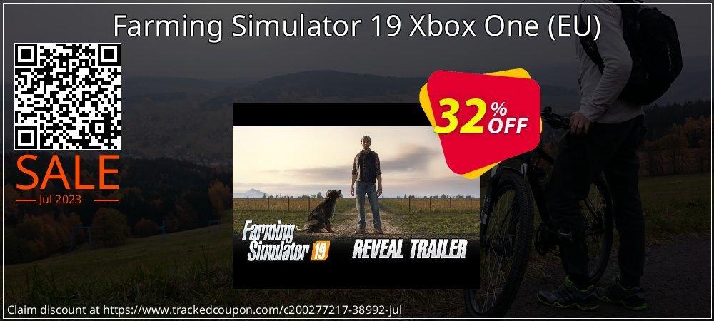 Farming Simulator 19 Xbox One - EU  coupon on Hug Holiday sales