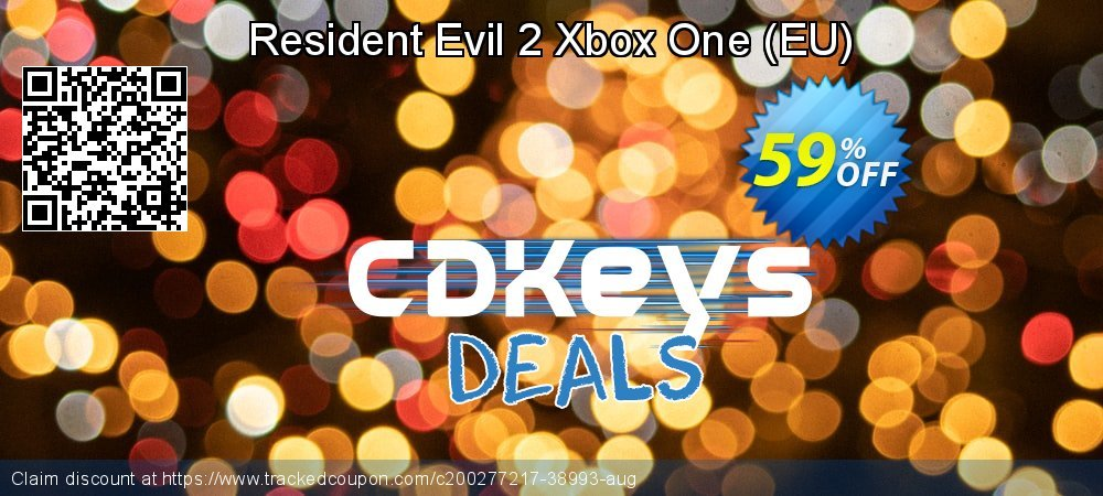 Resident Evil 2 Xbox One - EU  coupon on Camera Day deals