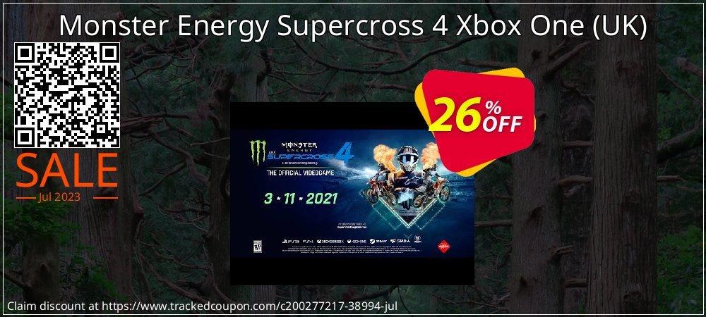 Monster Energy Supercross 4 Xbox One - UK  coupon on Summer offer