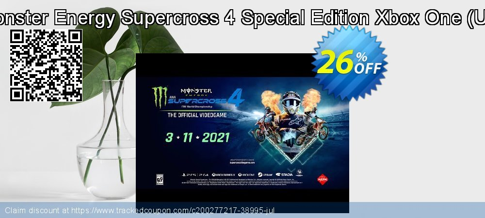 Monster Energy Supercross 4 Special Edition Xbox One - UK  coupon on Father's Day discount