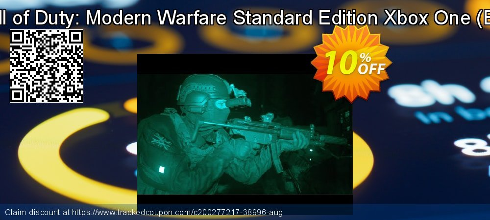 Call of Duty: Modern Warfare Standard Edition Xbox One - EU  coupon on National Cheese Day offering discount