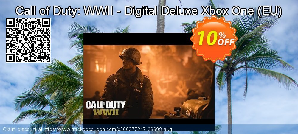 Call of Duty: WWII - Digital Deluxe Xbox One - EU  coupon on World Milk Day super sale