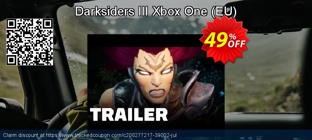 Darksiders III Xbox One - EU  coupon on World Oceans Day deals
