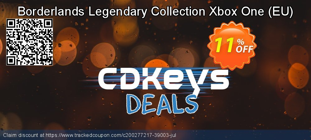 Borderlands Legendary Collection Xbox One - EU  coupon on National Kissing Day offer
