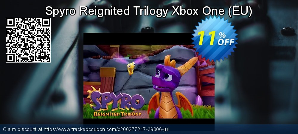 Spyro Reignited Trilogy Xbox One - EU  coupon on Camera Day offering sales