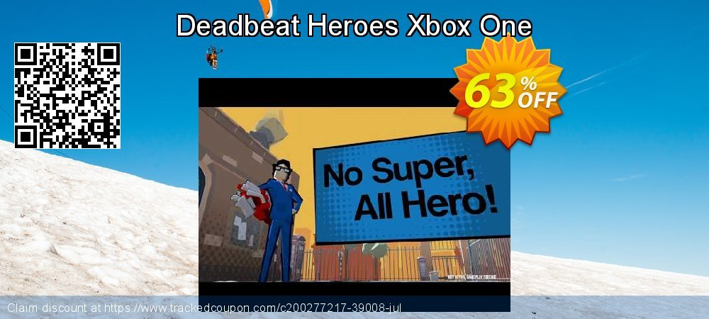Deadbeat Heroes Xbox One coupon on Father's Day discounts