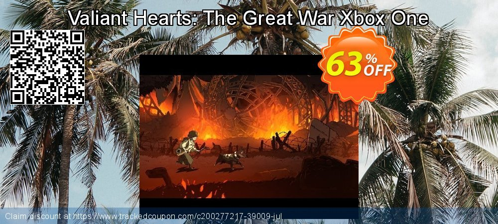 Valiant Hearts: The Great War Xbox One coupon on National Cheese Day promotions