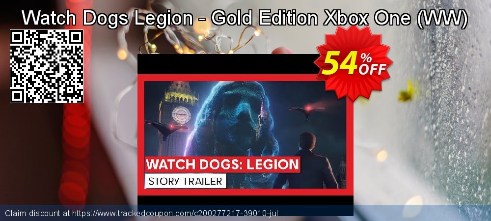 Watch Dogs Legion - Gold Edition Xbox One - WW  coupon on World Bicycle Day sales