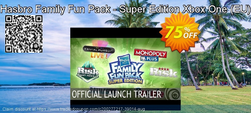 Hasbro Family Fun Pack - Super Edition Xbox One - EU  coupon on Social Media Day offering discount
