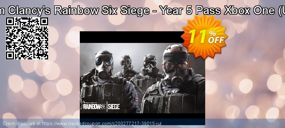 Tom Clancy's Rainbow Six Siege - Year 5 Pass Xbox One - UK  coupon on World Oceans Day offering sales