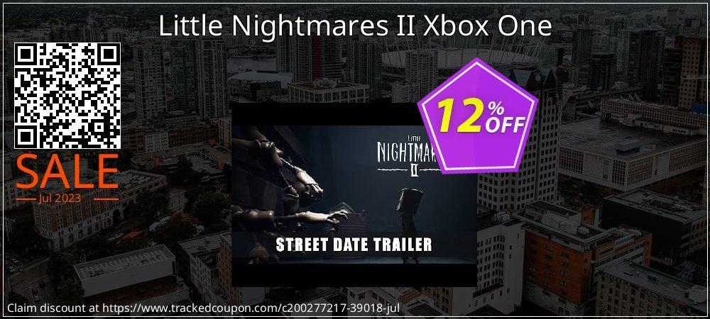 Little Nightmares II Xbox One coupon on Hug Holiday promotions
